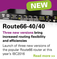 BROAMAN ROUTE66 AUTOROUTER PROVIDES ALL-FORMAT NETWORKING